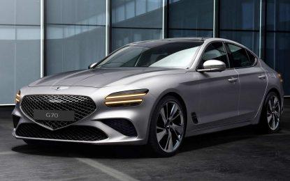 Stiže atraktivni obnovljeni Genesis G70