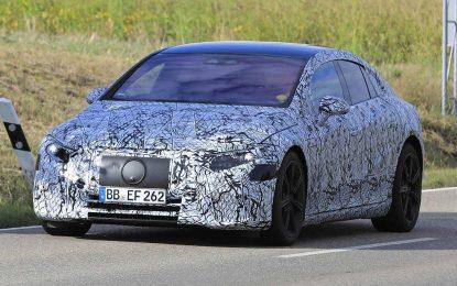 Završni testovi za Mercedes EQS