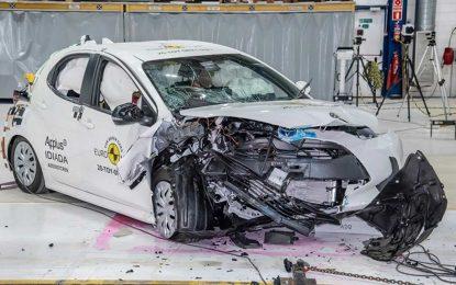 Obavljeno prvo ovogodišnje EuroNCAP-ovo testiranje s pooštrenim kritrijima: Toyota Yaris odlikaš [Galerija i Video]