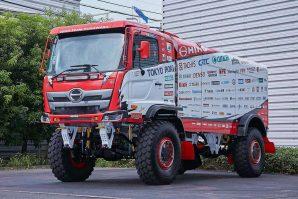Hino Team Sugawara s potpuno prerađenim takmičarskim kamionom nastupiće na predstojećem Dakar Rallyju
