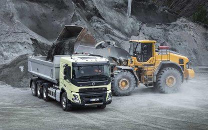 Volvo Trucks obilježava deset godina prisutnosti u građevinskoj industriji