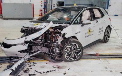 Električni Volkswagen ID.3 postigao odlične ocjene na EuroNCAP testovima [Galerija i Video]
