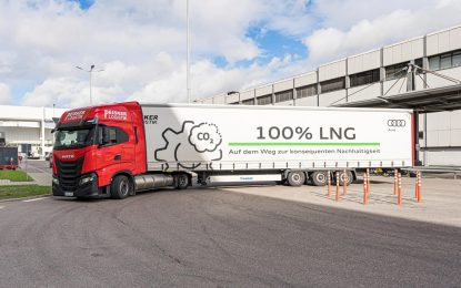 Audi Logistics – ekološka prihvatljivost
