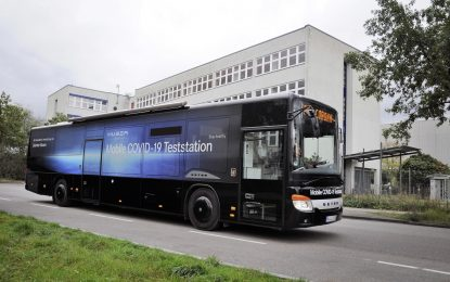 Daimler Busses pretvorio autobus Setra S 416 LE u mobilnu testnu stanicu na Covid-19