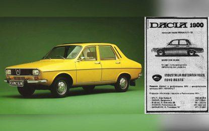 Rumunski Renault 12 na našim prostorima