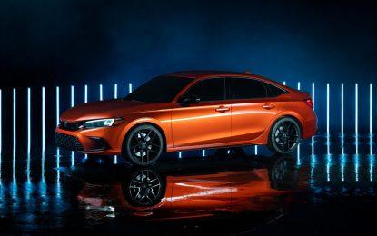 Honda predstavila budući Civic [Galerija]