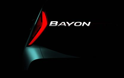 Hyundai najavio novi crossover – Bayon