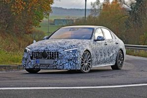 Opet snimljen novi Mercedes-AMG C43