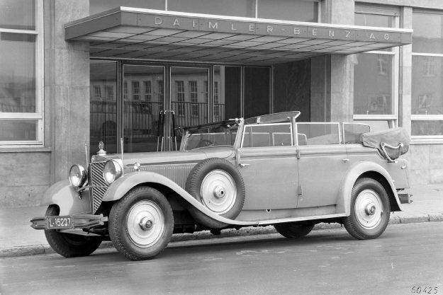 Mercedes-Benz Typ 770 Cabriolet [1931]