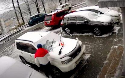 Parkirajte automobil što dalje od zgrada i drveća [Video]