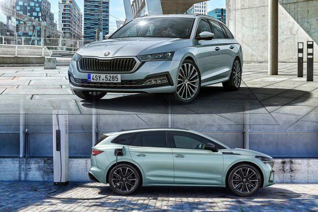 Škoda Octavia i Škoda Enyaq iV [2020]
