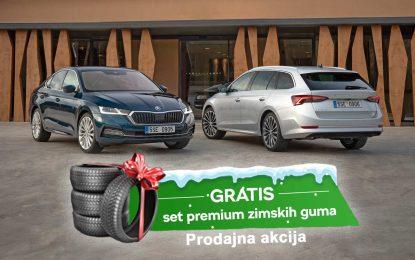U novoj zimskoj prodajnoj akciji, uz novu Škodu Octaviju stiže i komplet zimskih guma gratis