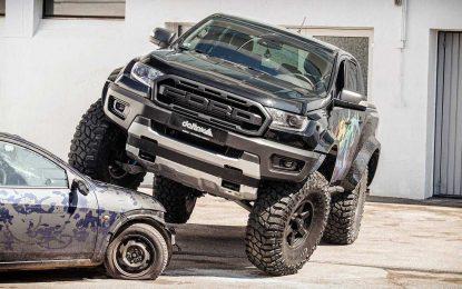 Delta4x4 Ford Ranger Raptor – do limita [Galerija i Video]