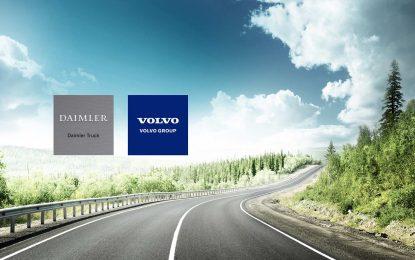 Volvo i Daimler potpisali ugovor o zajedničkom ulaganju u razvoj, proizvodnju i komercijalizaciju sistema gorivih ćelija za upotrebu u teškim kamionima