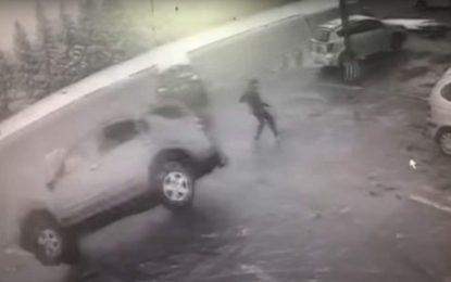 Snimak dramatične nesreće iz dva ugla [Video]