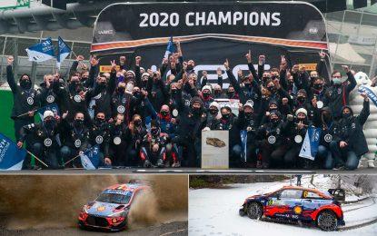 Hyundai Motorsport proslavio drugu WRC titulu u poretku konstruktora