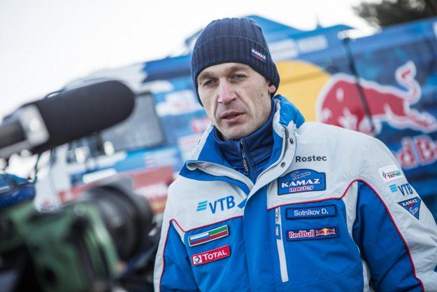 Dimitry Sotnikov / KamAZ Master Team (Dakar 2021)