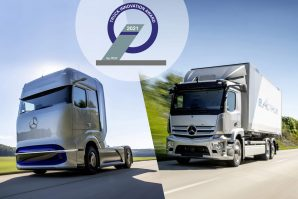 "Mercedes-Benzovi kamioni osvojili nagradu za inovacije ""2021 Truck Innovation Award"""