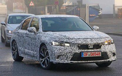 Honda priprema novu generaciju Civica: testovi u Njemačkoj