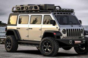 Jeep Wrangler Van – za sada samo render [Galerija]