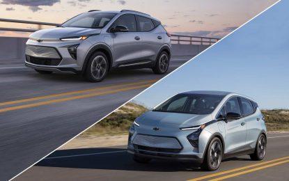 Chevrolet Bolt EV i Bolt EUV: Facelift i novi model [Galerija]