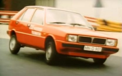 Lancia Delta: Zanimljiv test iz 1980. godine [Video]