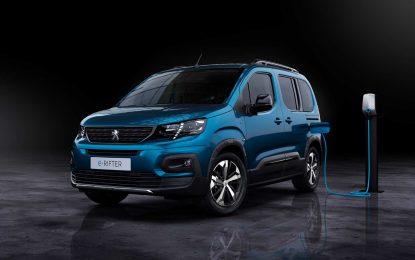 Peugeot predstavio e-Rifter [Galerija]
