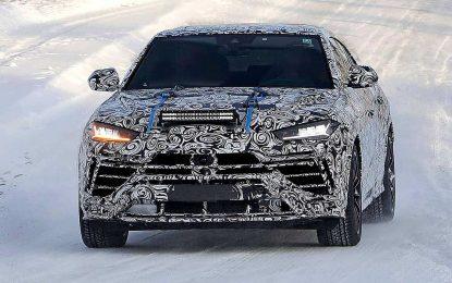 Lamborghini Urus Evo – priprema za facelift