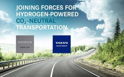Daimler i Volvo – zajednička investicija u razvoj sistema s gorivim ćelijama: cellcentric