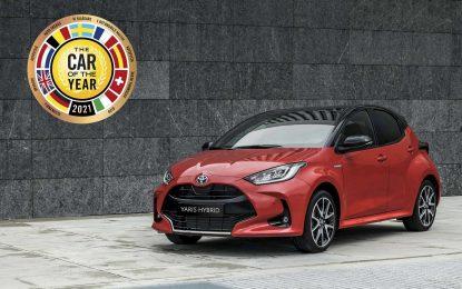 "Toyota Yaris je ""Evropski automobil 2021. godine"" (European Car of the Year 2021)"