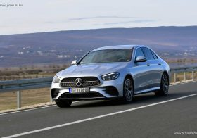 TEST – Mercedes-Benz E 220d 4Matic Sedan (194 KS) W213
