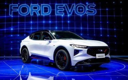 Ford Evos u Šangaju: Liftback, karavan i SUV, tri u jedan [Galerija]