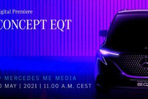Mercedes Concept EQT – prvo električni