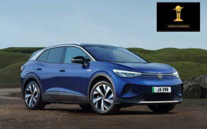 "World Car Awards: Volkswagen ID.4 okrunjen titulom ""Svjetski automobil godine"" (World Car Of The Year 2021)"