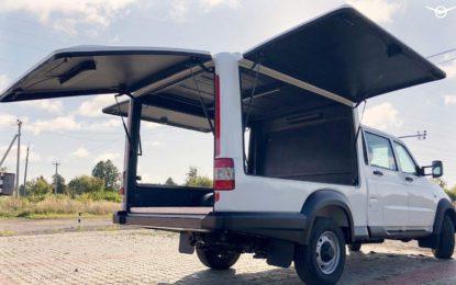UAZ Profi: Nova verzija kombija