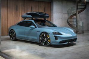 Porsche Performance roof box – krovni kofer za Taycan Cross Turismo