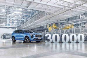 Haval: Proizvedeno 30.000 vozila u Rusiji