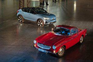 Volvo P1800 i Volvo C40 Recharge: Dijeli ih 60 godina, povezuje dizajn [Galerija]