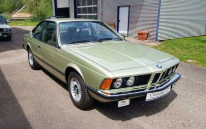 Oldtimer nedjelje: BMW 633 CSi kao nov nakon 45 godina [Galerija]