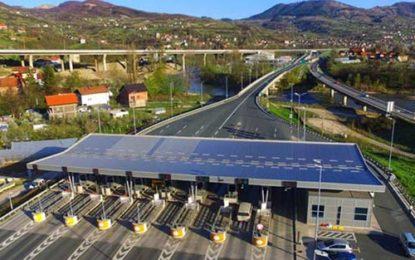 U avgustu 2021. više od 1,5 miliona vozila na autocesti A1