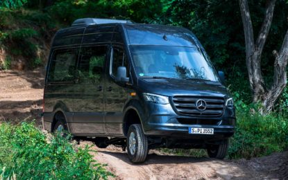 Četiri unapređenja za Mercedes-Benz Sprinter [Galerija]