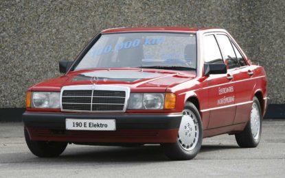Mercedes E 190 Elektro: Razvoj električnog Baby-Benza [Galerija i Video]