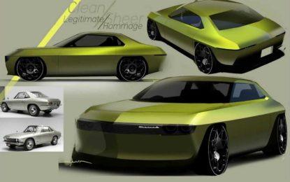 Nissan Silvia CSP311: Skice retro dizajniranog električnog modela