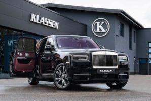 Klassen Armored Rolls-Royce Cullinan – sigurnost za 833.000 eura [Galerija i Video]