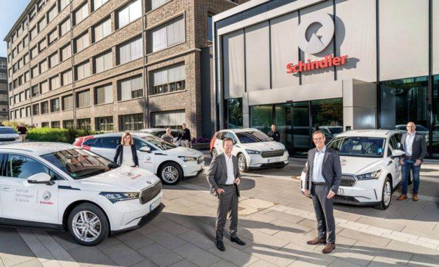 Škoda Enyaq iV: Schindleru isporučeno 200 električnih SUV-ova