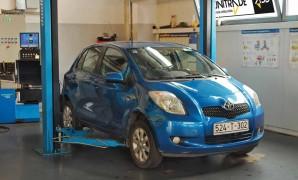 Održavanje polovne Toyote Yaris 1.3 VVT-i / 1.4 D-4D (2005.-2010.)