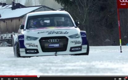 Audi je iza Volana trkaćeg S1 stavio skijaša Felixa Neureuthera