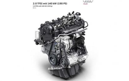 Novi benzinski motor namijen za novog Audija A4