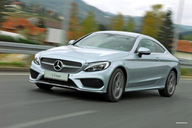 TEST – Mercedes-Benz C 180 Coupe (C205)
