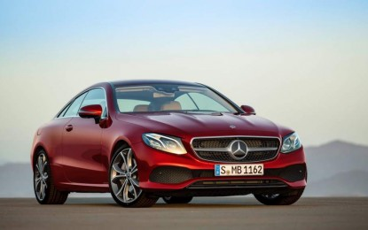 Mercedes otkrio novu E-klasu Coupe